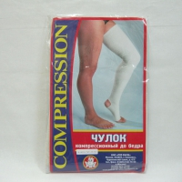 Чулок компрессионный до бедра (III класс компрессии)