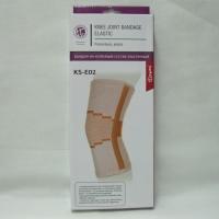 Бандаж на коленный сустав эластичный с ребрами жесткости Ttoman